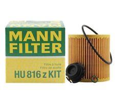 Engine Oil Filter Kit & Drain Plug O-Ring Mann For BMW E82 E88 E89 E92 F10 F32
