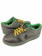 7bd5a092 Nike Dunk Low CL Black/Black-Anthracite-Pine Green Rasta Jamaica 304714-