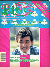 The Ring Boxing Magazine June 1986 Barry McGuigan EX 060616jhe