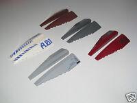 Lego ® Lot x2 Plaques Ailes Avion Vaisseau Plate Wings Choose Color 42060+42061