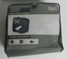 Everlast Everfresh Boxing Sparring Head Gear Black - New - Free Shipping