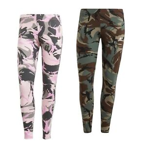 Ladies Adidas Comfortable Sportswear Camouflage 7/8 Leggings Sizes from 8 to 18