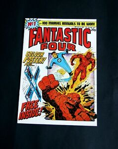 Fantastic Four comic No.1. OCT 6, 1982. Includes Boomerang gift plus Poster.
