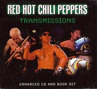 RED HOT CHILI PEPPERS - TRANSMISSIONS - ENHANCED CD & BOOK SET - FREE POST IN UK
