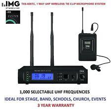 Lavalier/Lapel UHF Pro Audio Microphones