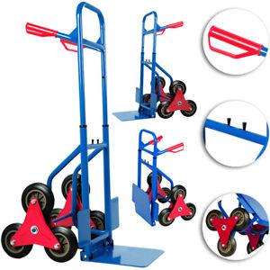 Diable repliable extensible 200kg 3 roues - Transport Chariot pliable escalier