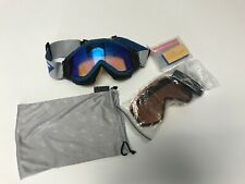 SMITH OPTICS SNOW GOGGLES WITH EXTRA SET OF NEW LENS ERASER AND DUST BAG