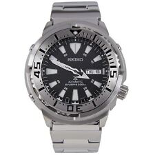 Seiko SRP637 Men's Prospex Analog Automatic Stainless Steel Watch - Silver