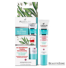 FLOSLEK LID & UNDER EYE GEL WITH EYEBRIGHT AND PLANTAIN PREVENTS BAGGY EYES