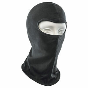 Held Balaclava From 100% Natural Silk With Flat Seam for Motorcycle / Kart /