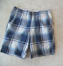A&f Abercrombie & Fitch Vintage para Hombre Cuadros Shorts Talla 32