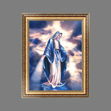 Religion DIY 5D Diamond Embroidery Painting Cross Crafts Stitch Home Wall Decor
