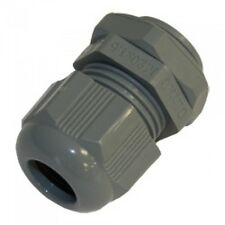 20 x M32 Grey Cable Gland + Locknut IP68  Cable Dia 17-25mm