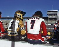 Barry Sheene Kenny Roberts Colour Wall 10x8 Photo