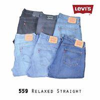LEVIS 559 RELAXED STRAIGHT LEG JEANS DENIM GRADE A W30 W32 W34 W36 W38 W40