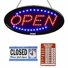 Led Open Sign for Business - 23 x 14 inch (Bigger Size) Led Shop Light - Neon