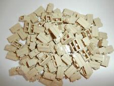 LEGO  120 x Mauerstein / Ziegelstein / Klinker 98283 beige 1x2 Noppen. NEU