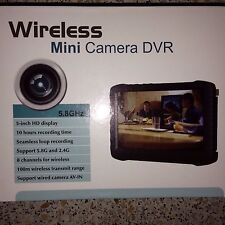 wireless mini Camera dvr spioncino Porta a Colori 100 m.