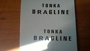 TONKA  GREEN  DRAGLINE   DECAL SET