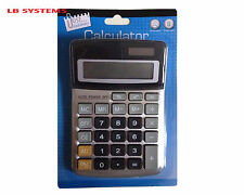 Midi Desktop 8 DIGIT Calculator Dual Power School Office Home