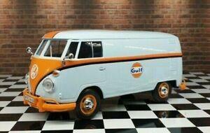 Motor Max DDA Collectibles 1:24 Gulf Volkswagen Type 2 T1 Delivery Van Kombi Bus
