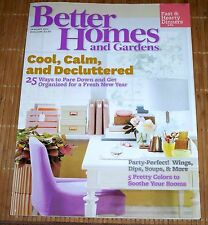 Better Homes and Gardens Magazine January 2011 New Years