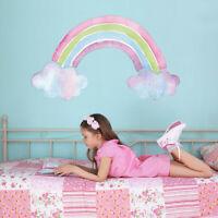 Watercolour rainbow wall sticker | Girls room décor | Wall decals