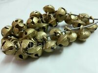 20 Handmade Brass Metal Small Bells Ghungroo for DIY Craft Classical Music Dance