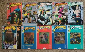 Robin #1-5 Mini-Series 1991 & Robin III Cry Of The Huntress 2 Complete Sets NM