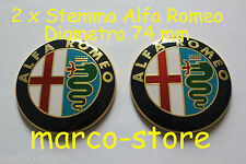 2 Stemma ALFA ROMEO MITO GIULIETTA  147 159 156 Logo Fregio Anteriore Posteriore