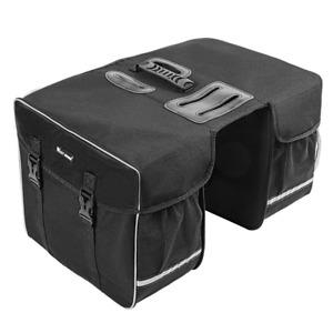30L Bike bicycle Waterproof Rear Seat Storage Bag Double Side Bike Rack Tail Bag