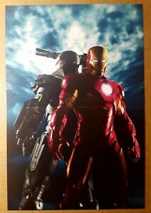 Avengers Iron Man 2 War Machine Marvel Comics Movie Poster