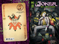 JOKER 80TH ANNIVERSARY - RYAN BROWN COVER A VARIANT W/ TRADE DRESS - IN HAND NM