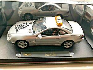 Maisto Mercedes Benz SL55 AMG F1 Formula One Safety Car 1/18 Scale