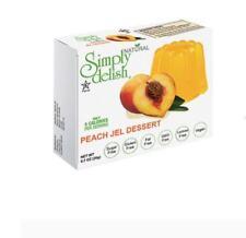 12 x 20g SIMPLY DELISH Peach Jel Dessert