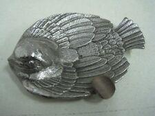 Antique metal ashtray bird-shaped