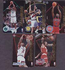 5 diff. 1995 Nba Basketball magnets Dumas Webber Cassell Hardaway Mashburn
