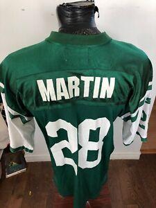 MENS Medium Starter Football Jersey New York  Jets #28 Curtis Martin