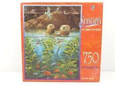 Seascapes Natures Union At Monterey 750 Pc Puzzle Nelson 1987 Milton Bradley NEW