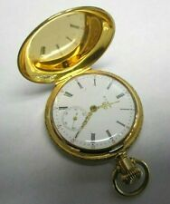 Elgin 1907 Grade 320 14K Solid Gold Pocket Watch