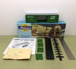 ATHEARN 50' DOUBLE DOOR RAILBOX BOX CAR BURLINGTON NORTHERN 247908 - NOS MIB 144