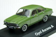 Opel Ascona A Limousine - Modell Bj. 1970-1975, Schuco-Modell M. 1:43, grünmet.