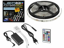 Digital Magic Stripe - LED RGB Lauflicht Lichtband SET 5m dimmbar IP65 - WW KW