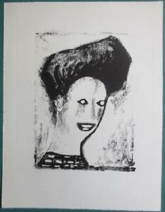 """Dix Otto - """"Rothaariges Mädchen"""", 1948, Ex.: 22/30"""