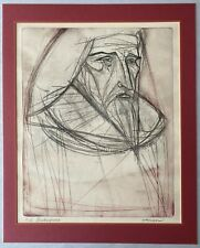 Rare Shakespeare Limited Edition Signed Etching by Irving Amen (1914-1989)