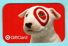 TARGET Potrait of Bullseye ( RARE On-Line ) 2009 Gift Card ( $0 )