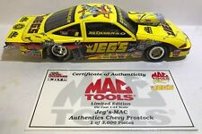 MAC TOOLS 2001 JEG COUGHLIN JR -JEG'S MAC PROSTOCK CAR -1/3000 -1/24-PLS READ