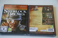 Ungelöste Verbrechen - Sherlock Holmes  (PC)  Neuware   New