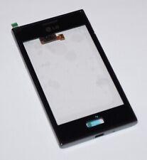 Original LG E610 Optimus L5 Touchscreen Housing Frame Front Cover Black