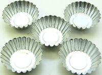 5 Wax tart melts metal reusable moulds ~ rigid aluminium